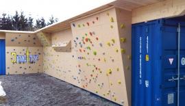 Boulderwand-Verkleidung
