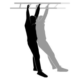 Fitnessparcours Hangelleiter