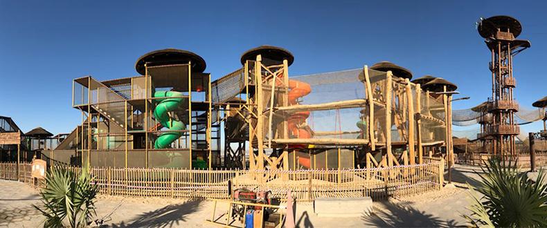 Außenansicht Abenteuerspielplatz in Dubai